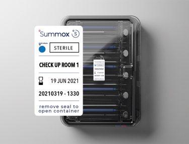 Container top met seal 2021